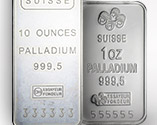 Image of two palladium bars